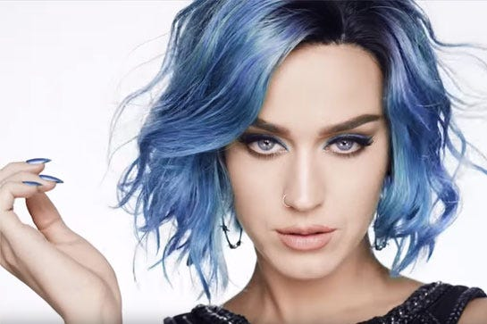 Blue hair color personal style photo courtesy of covergirl solutioingenieria Choice Image