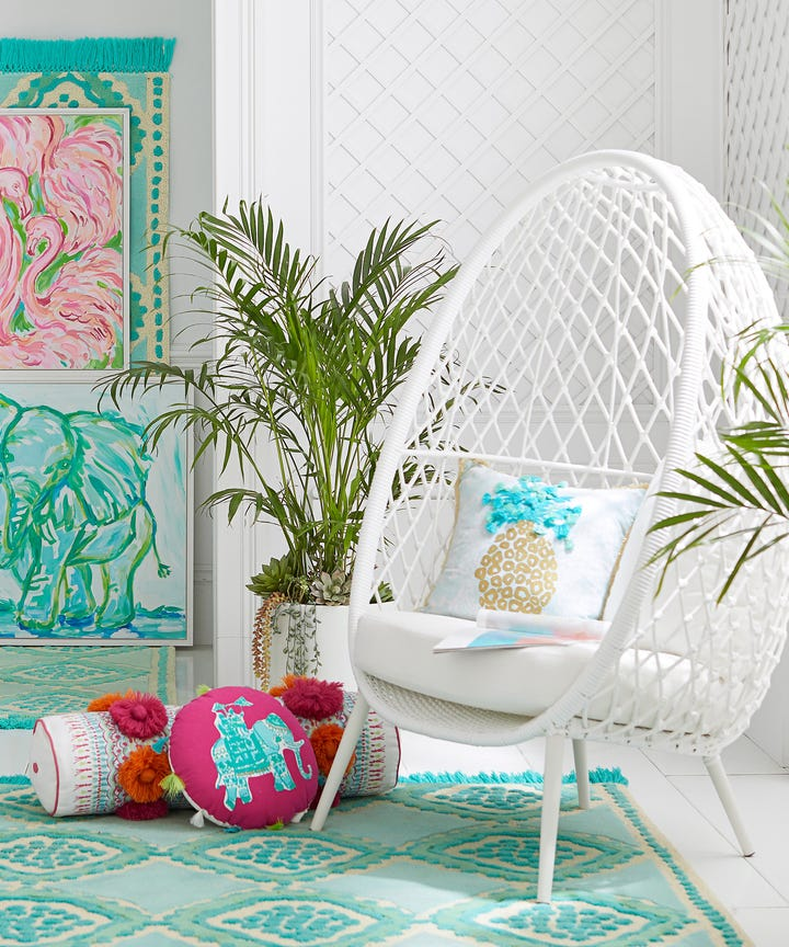 Merveilleux Pottery Barn Just Released An Exclusive Line With Lilly Pulitzer