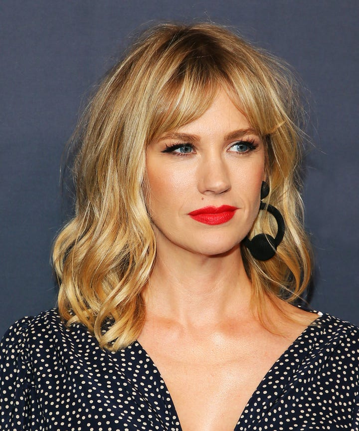 Curtain Bangs Celebrity Hairstyle Trend - Kirsten Dunst