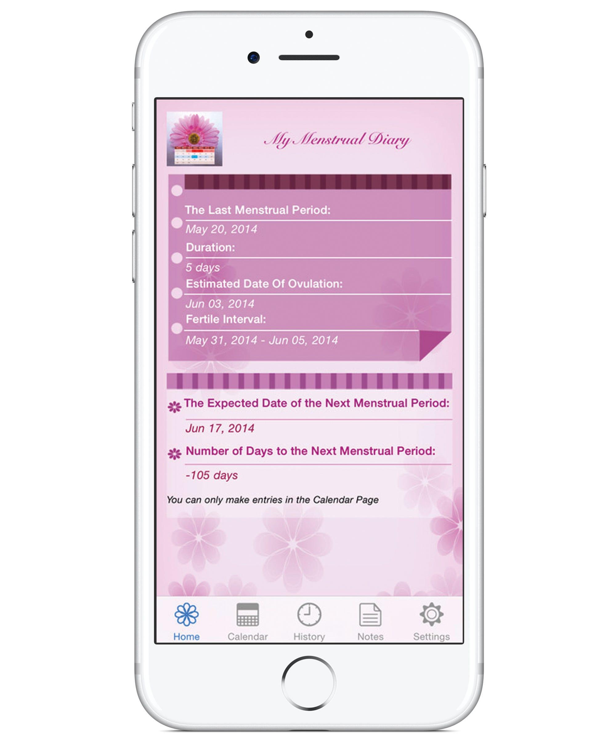 Best Period Tracker App - Menstruation Calendar