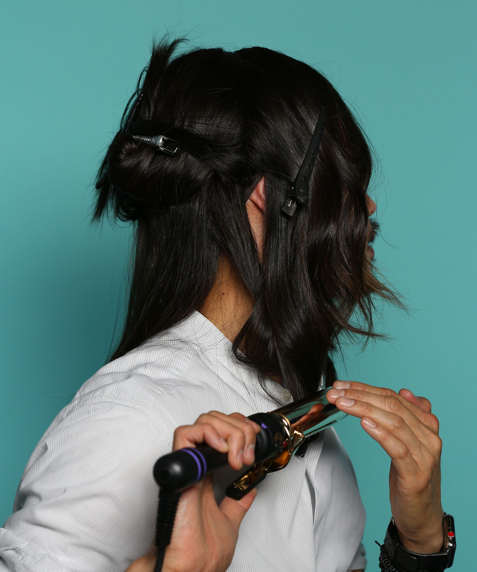 Anh Co Tran Wavy Hair Tutorial Video Messy Waves