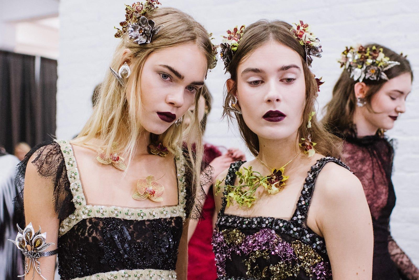 Rodarte flower crowns fall 2016 izmirmasajfo