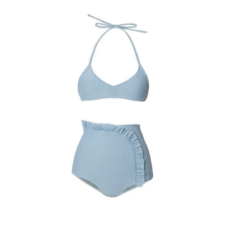 5ecc3dfec0 Best High Waisted Bikini Bottoms - Flattering Styles