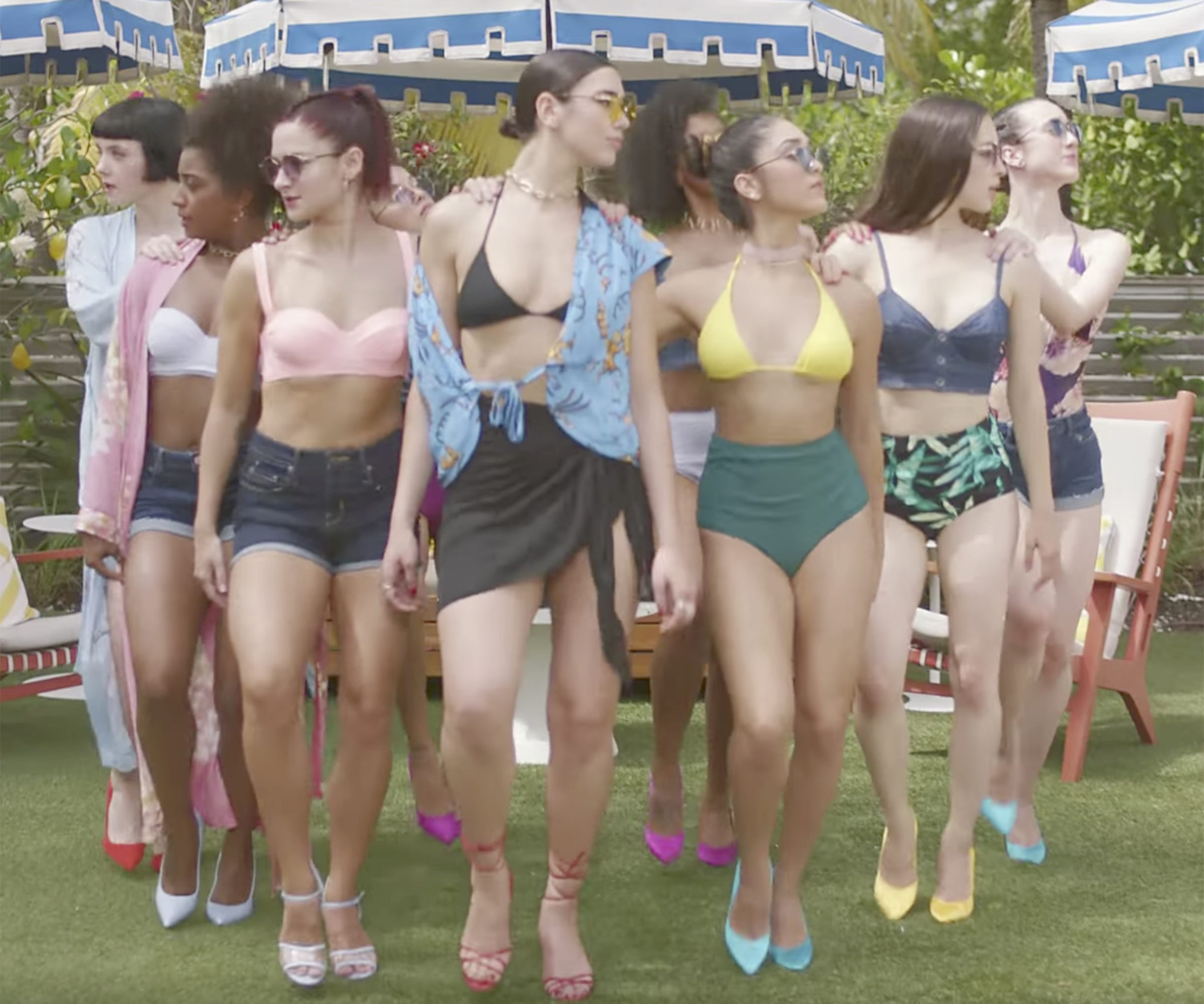 Dua lipa new rules music video style squad goals stopboris Image collections