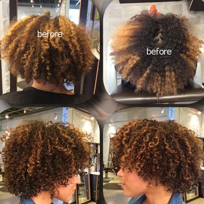 Haarfarbe Haare Färben In Vorher Nachher Fotos