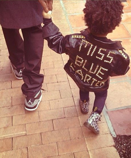 Why Blue Ivy Is The Most Stylin' Tyke Around