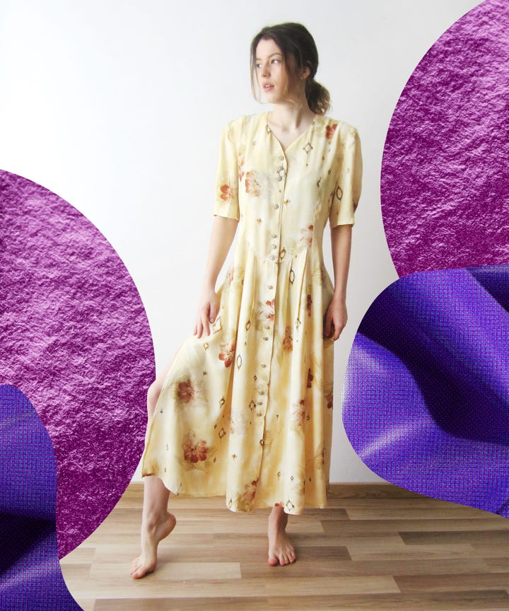Etsy vintage summer dresses for women they just dont make em like they used to dresses i mean lately ive been disappointed by fast fashion buys from brands that claim to be sustainable gumiabroncs Gallery