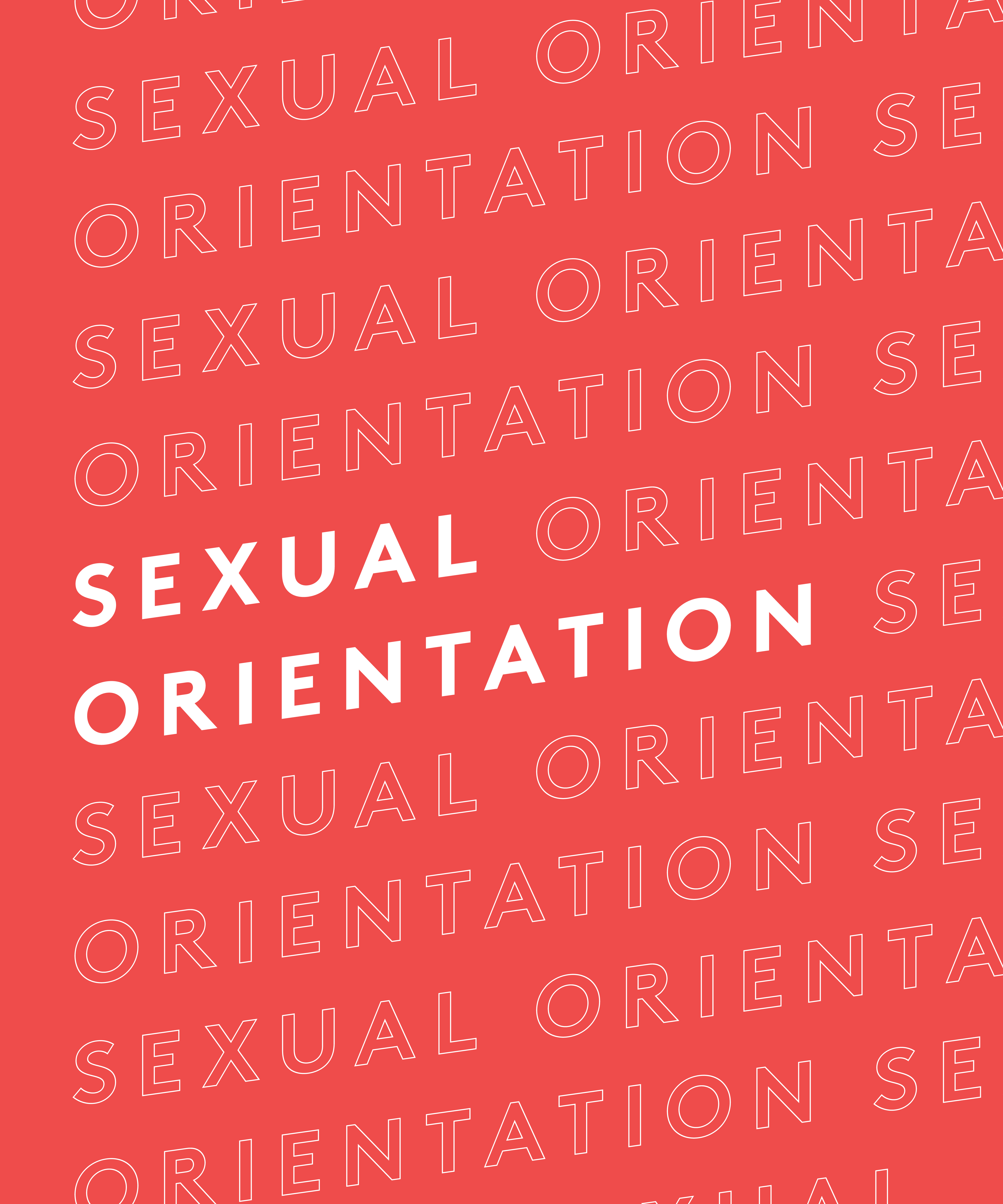 List of all types of sexual orientation