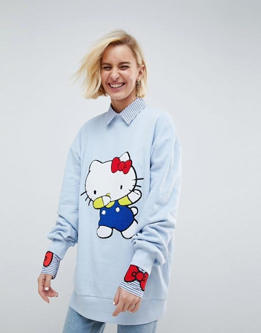 6b8561475 Asos Hello Kitty Clothes Pajamas Accessories Gift Photo