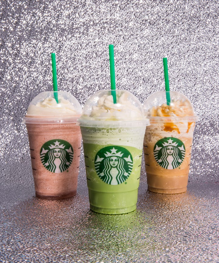 Starbucks Just Released New Cotton Candy Bubblegum Frappuccinos