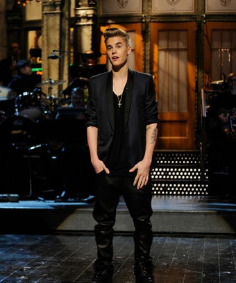Justin Bieber Saturday Night Live 2013