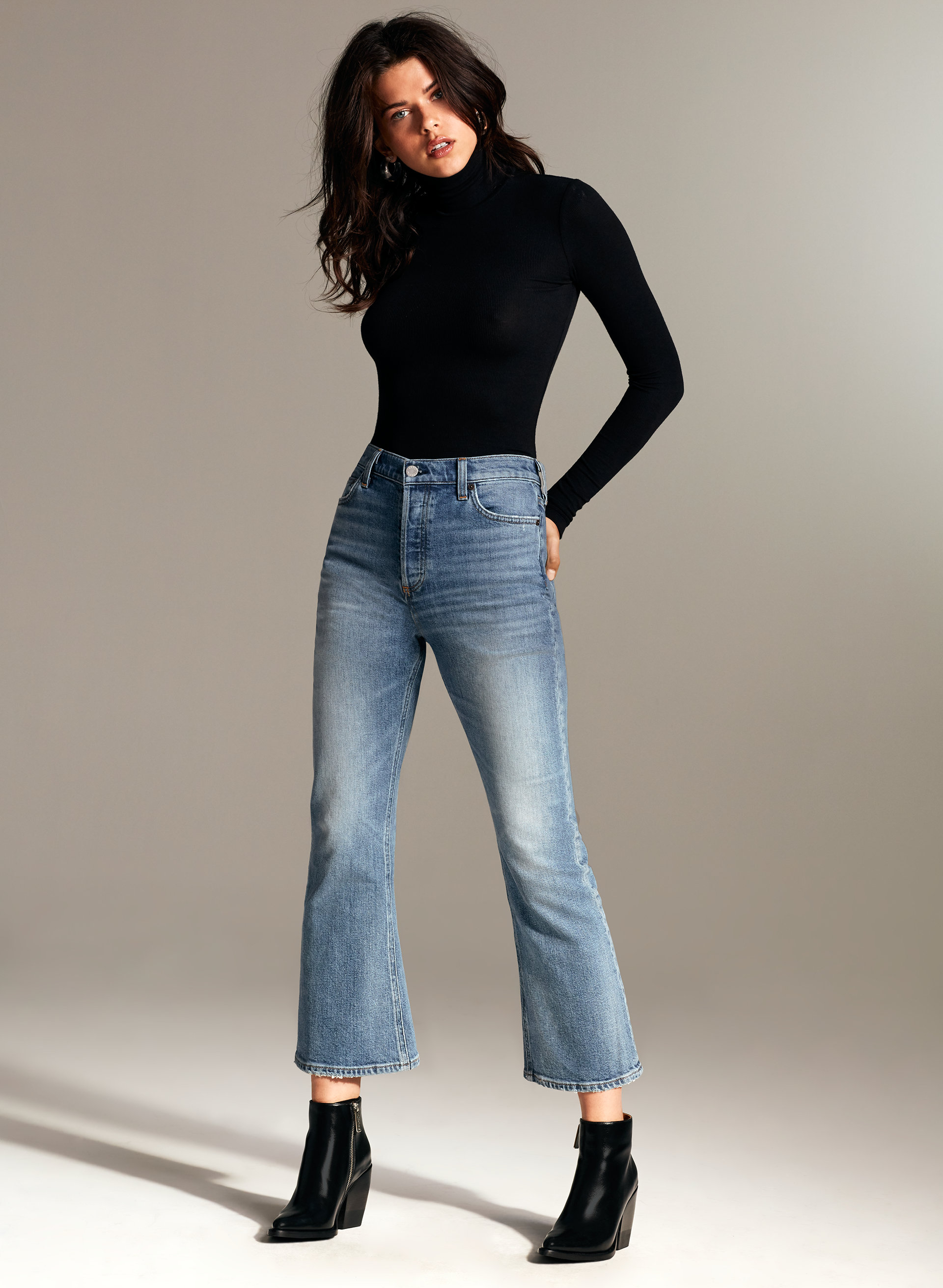 2b964f73f68b0 Best Cropped Flare Jeans - Fashion Trend 2018