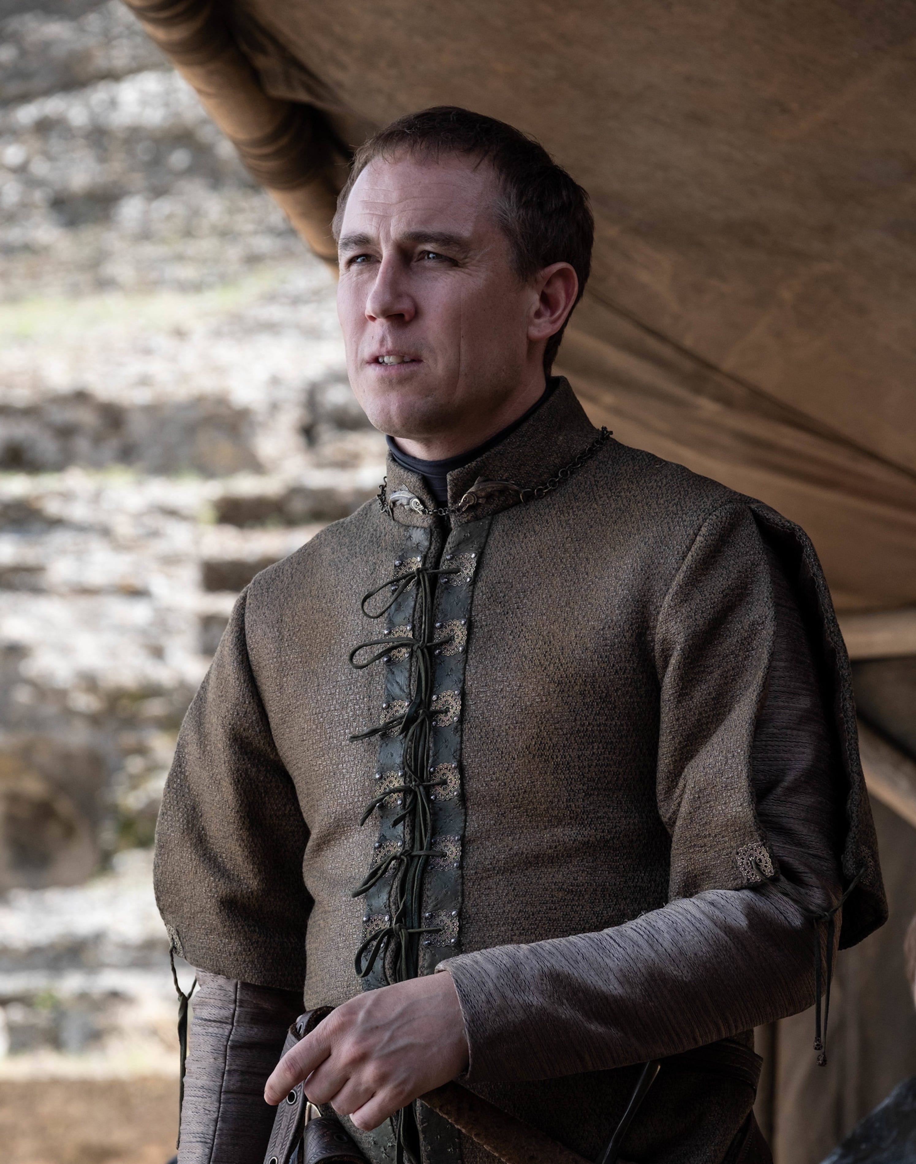 Why Tobias Menzies' Edmure Tully Was The Game of Thrones Finale Punching Bag