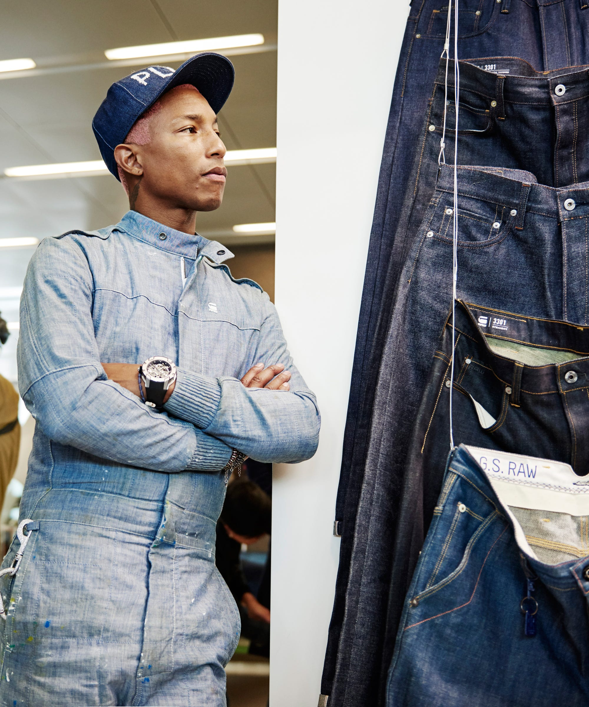 best service 39b2d 13a80 Pharrell Might Be The Most Sustainability-Focused Celeb In Fashion
