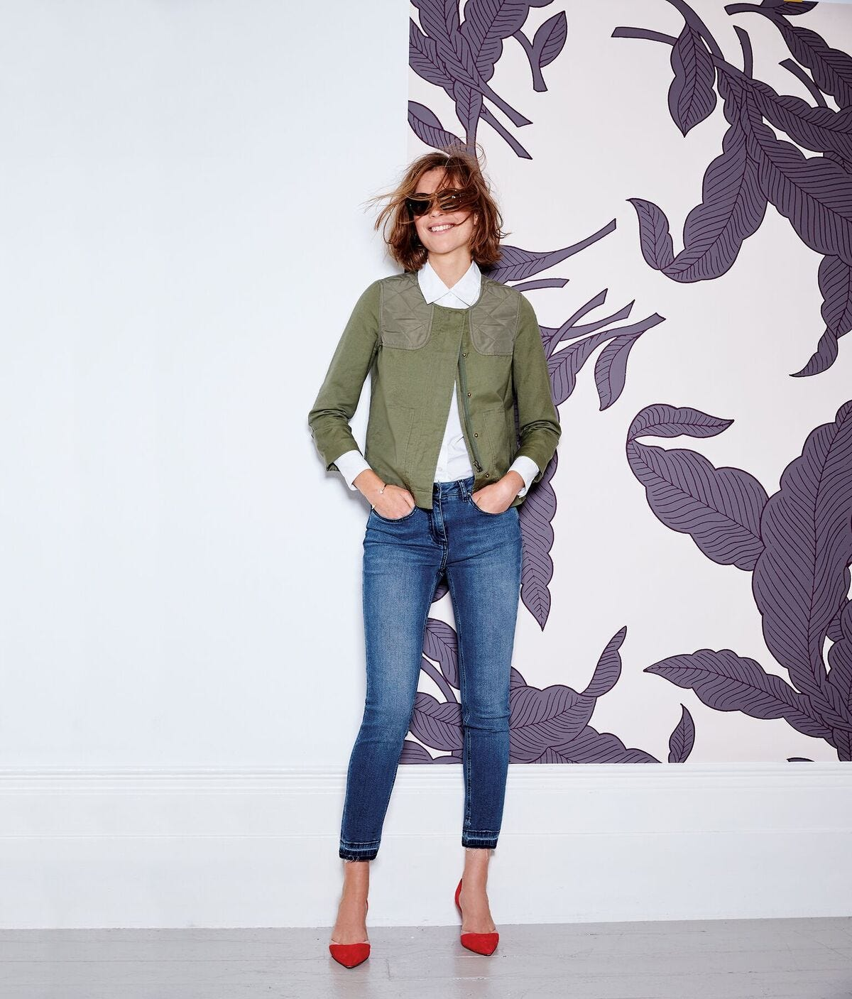 7b534ccba51 Boden Lookbook Spring 2016 - Military Trend