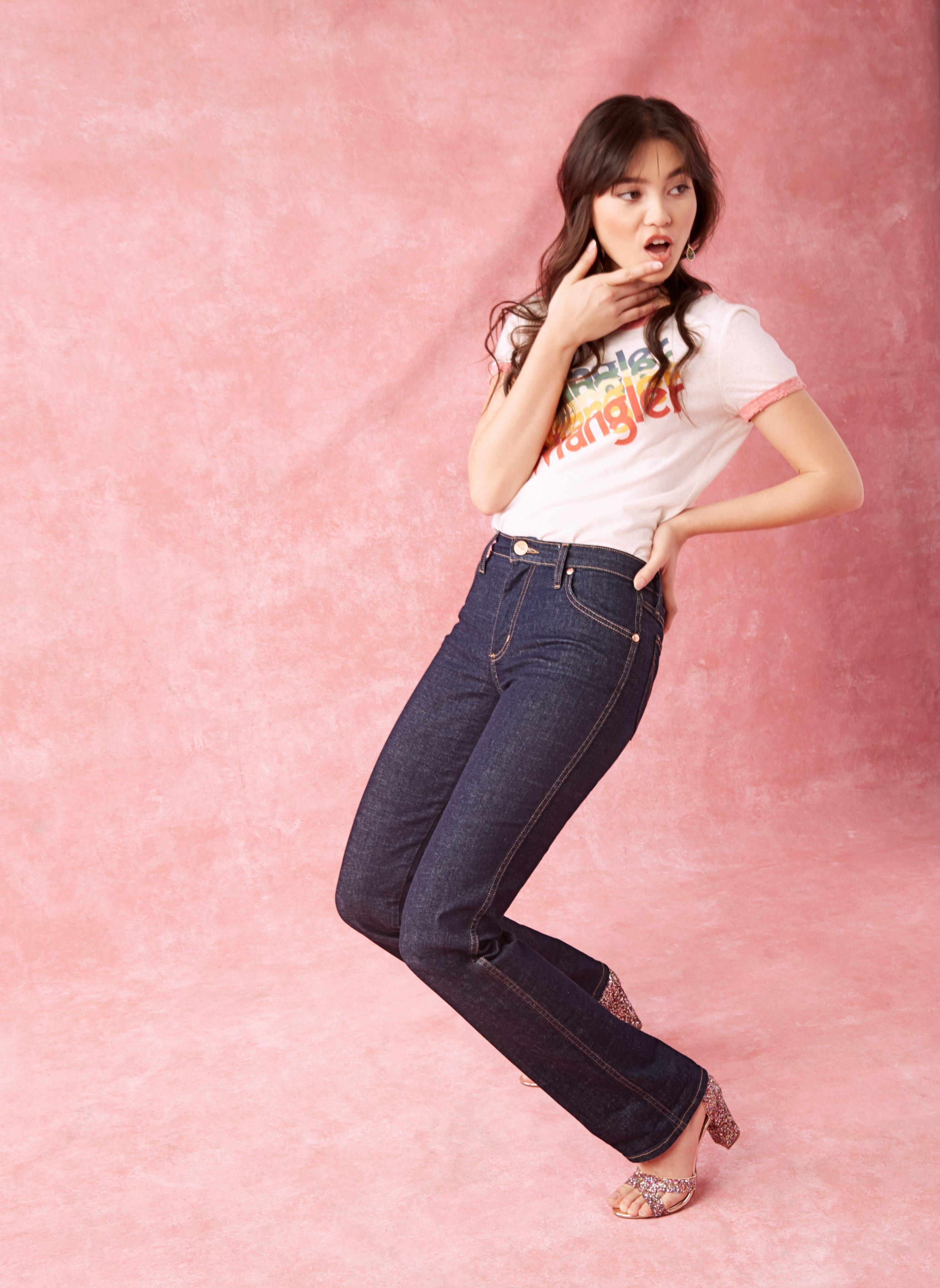 d8e1fe71d3 Wrangler ModCloth Denim Jeans Collection Plus Size