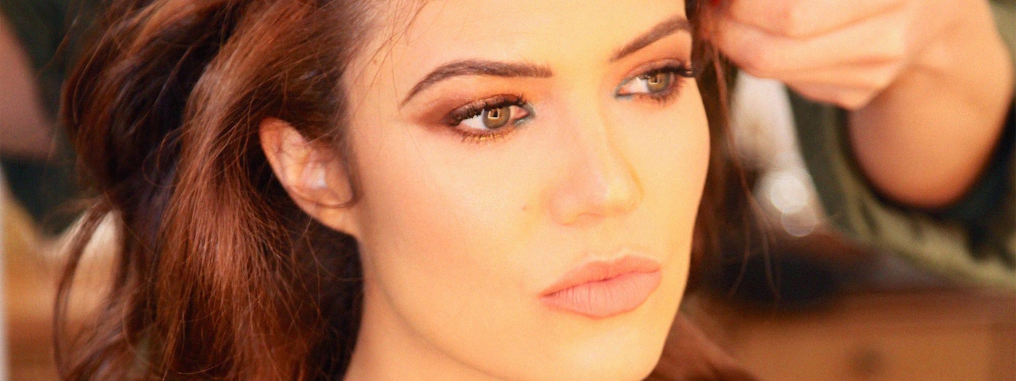 Mandy moore hair and makeup sag awards glam squad tips baditri Image collections