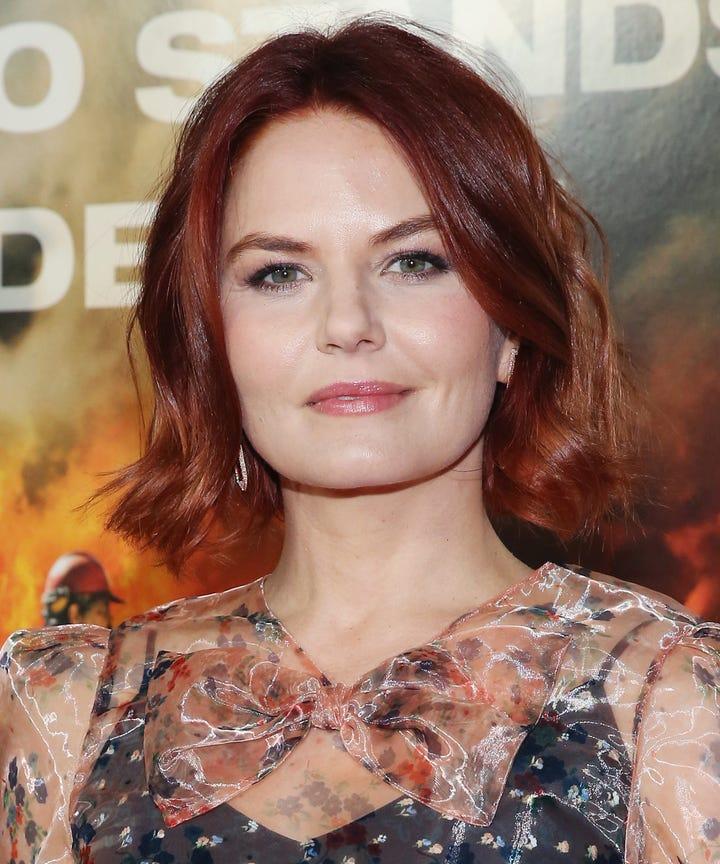 Jennifer Morrison Red Hair Hygge Fall Color Trend