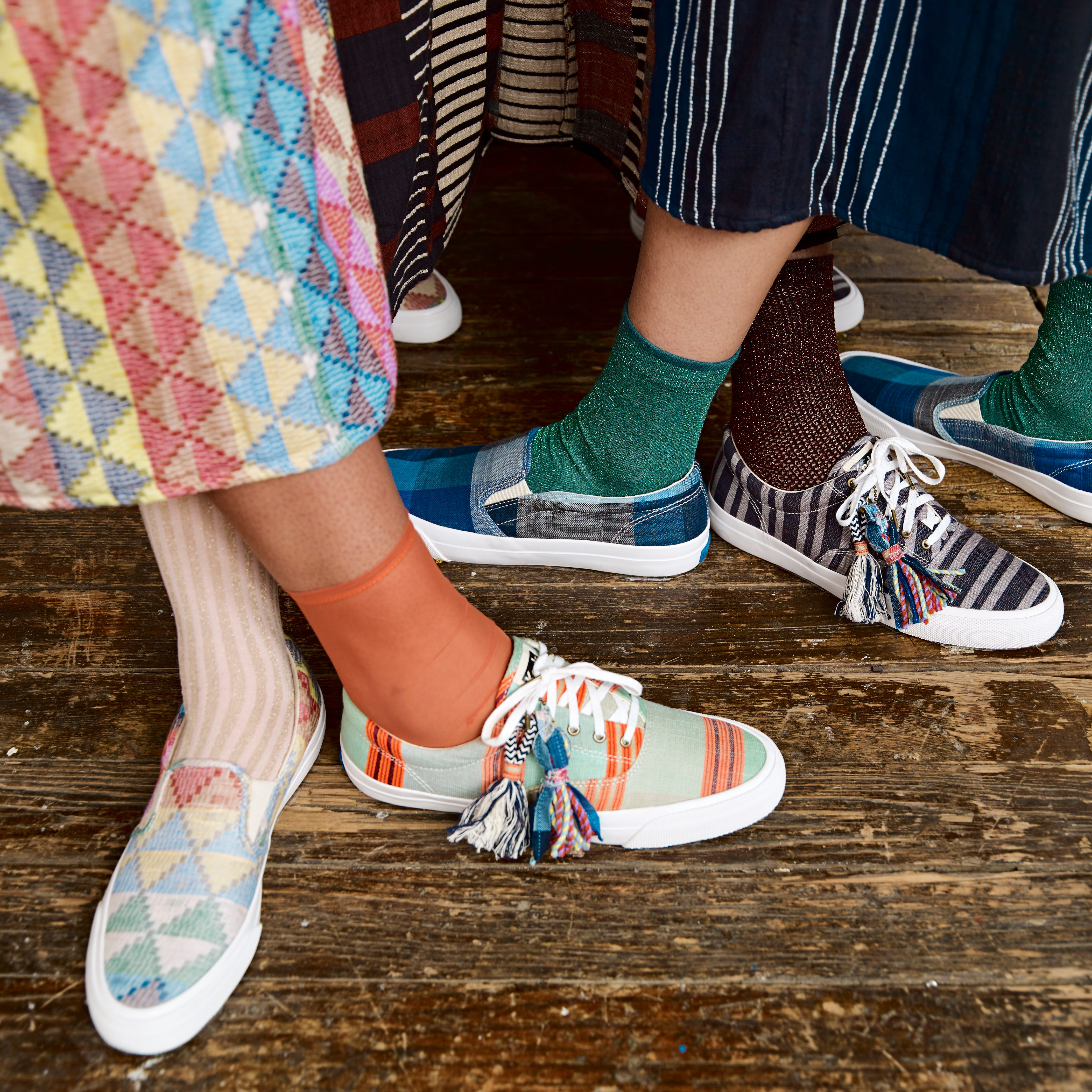 This Recycled Textiles Keds Collaboration Is Super Limited And Selling Out Fast