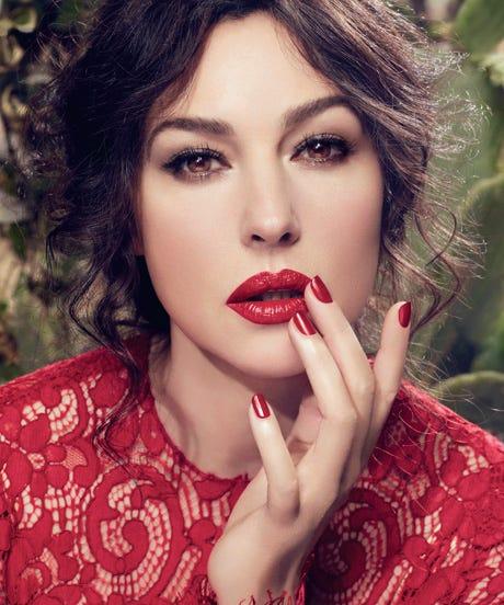 Dolce Gabbana Cream Lipstick Monica Bellucci Campaign