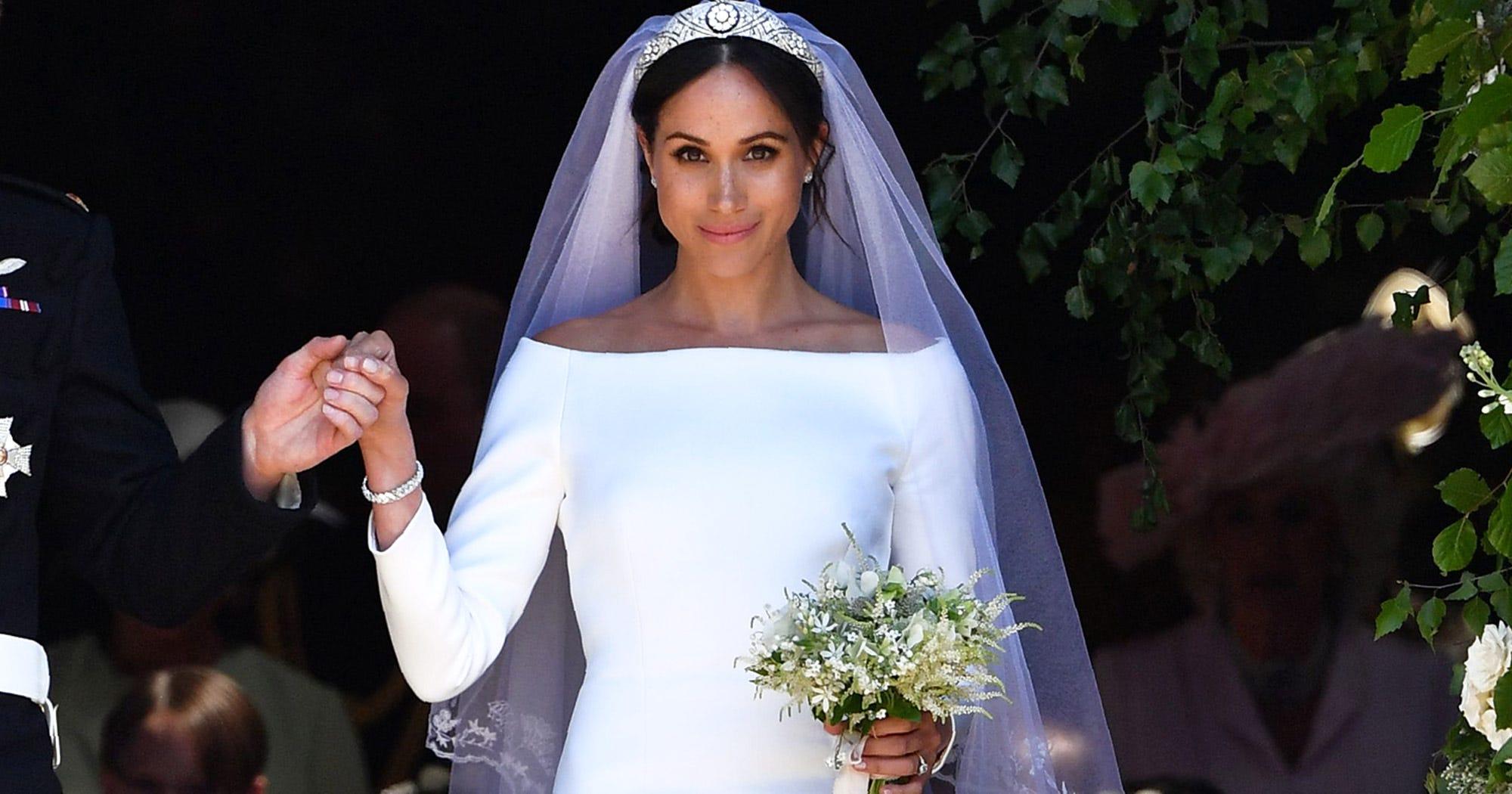 796d313c12 Designer Claims Meghan Markle s Wedding Dress Copied