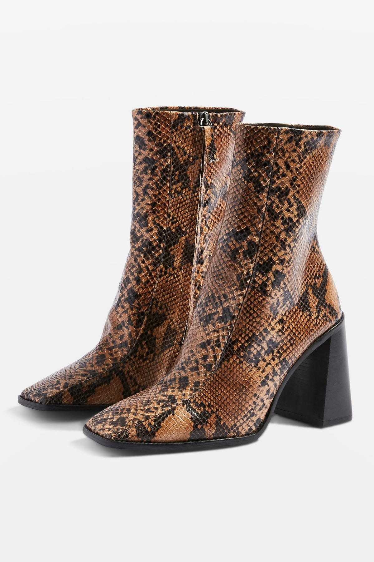 fbf15a9b275 Snakeskin Print Shoe and Boot Trend At NYFW