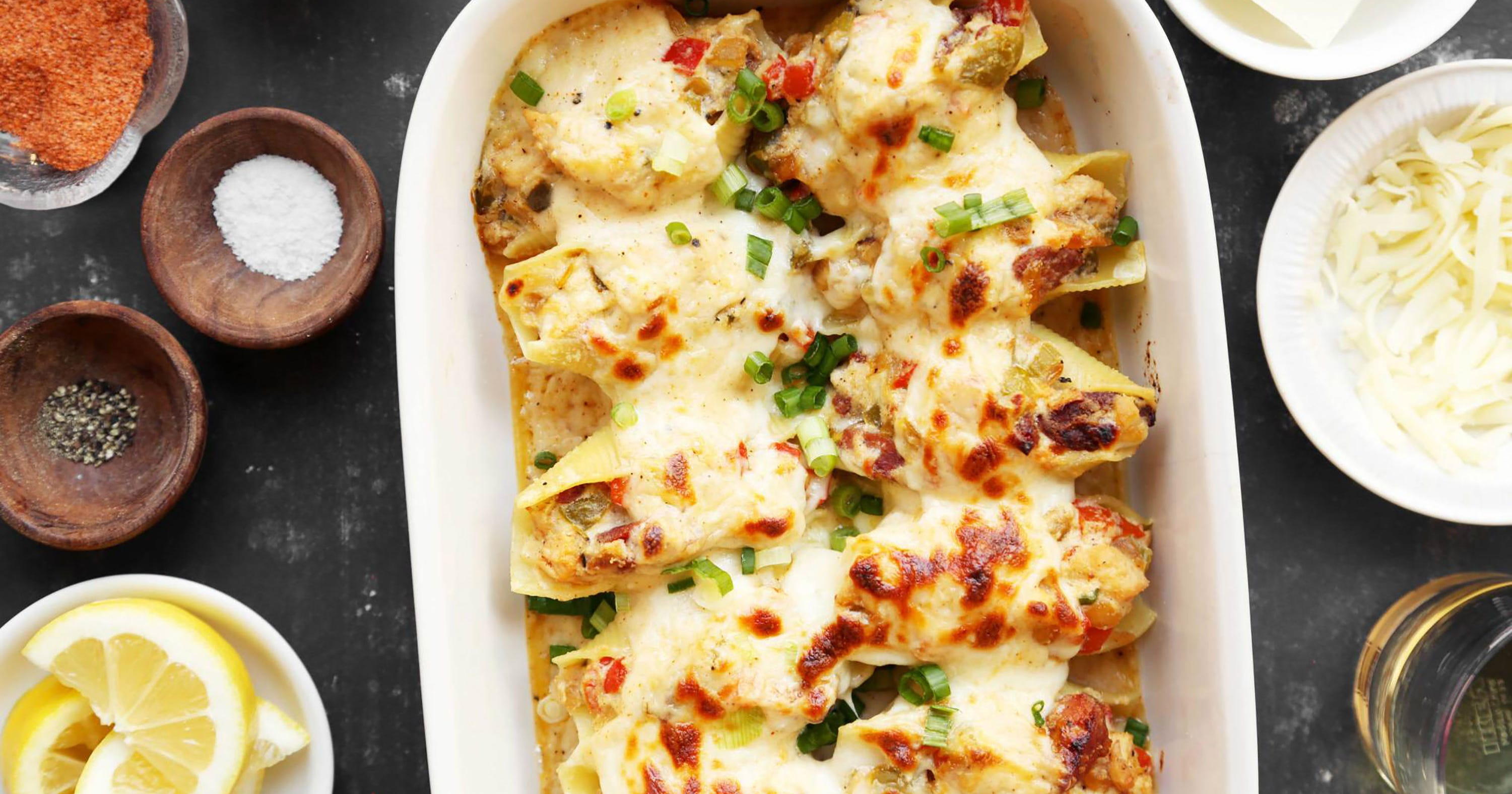 Stuffed Shells Are Here To Make All Your Dreams Come True