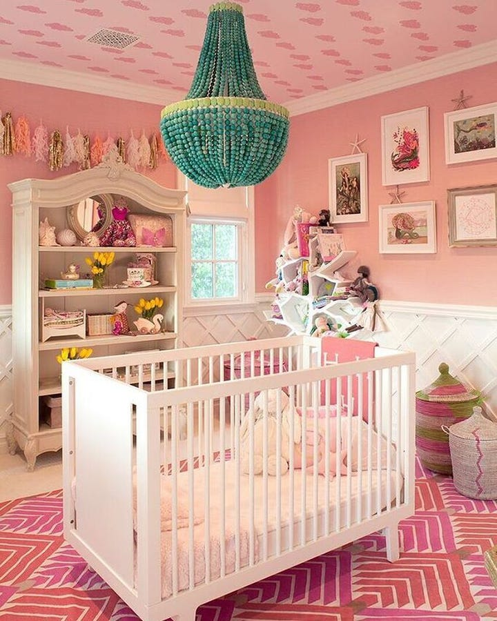 celebrity nurseries kim kardashian baby nursery decor