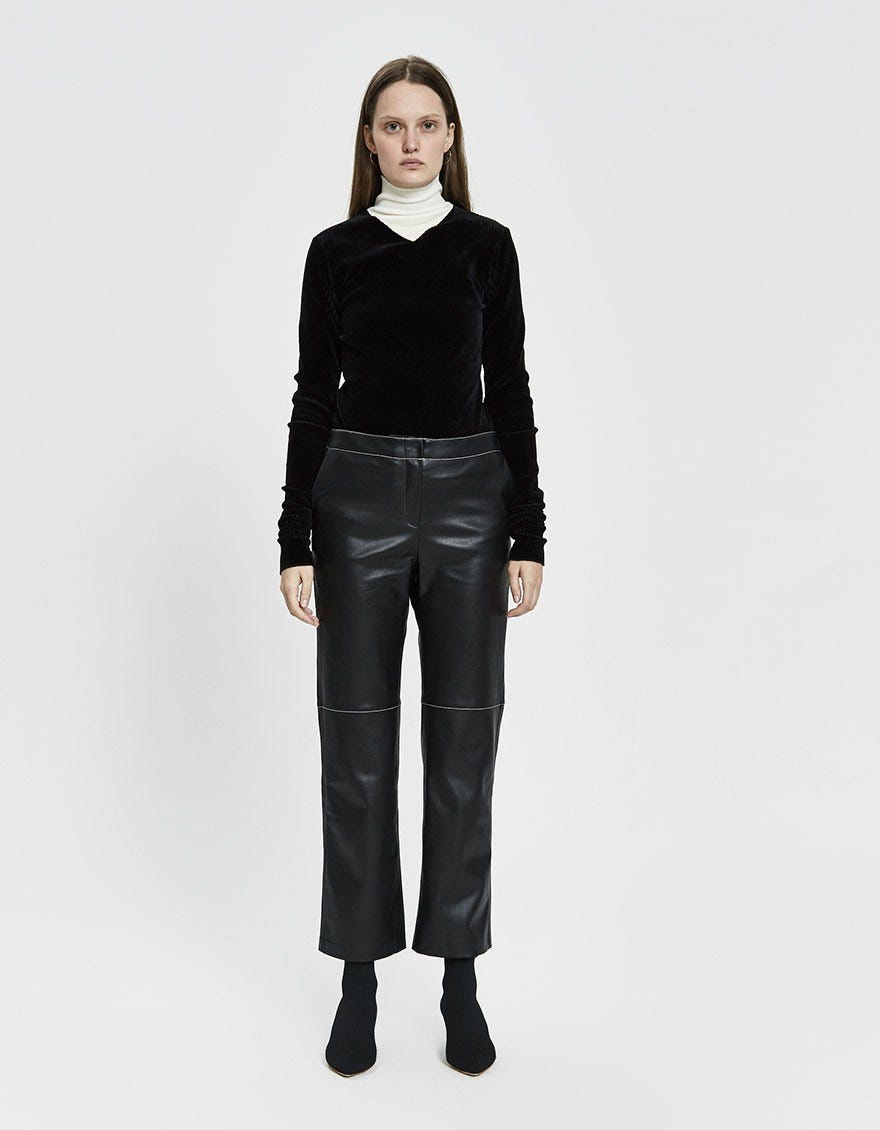 e1626df6 Leather Pants Trend Spring 2019, Vegan & Genuine Option