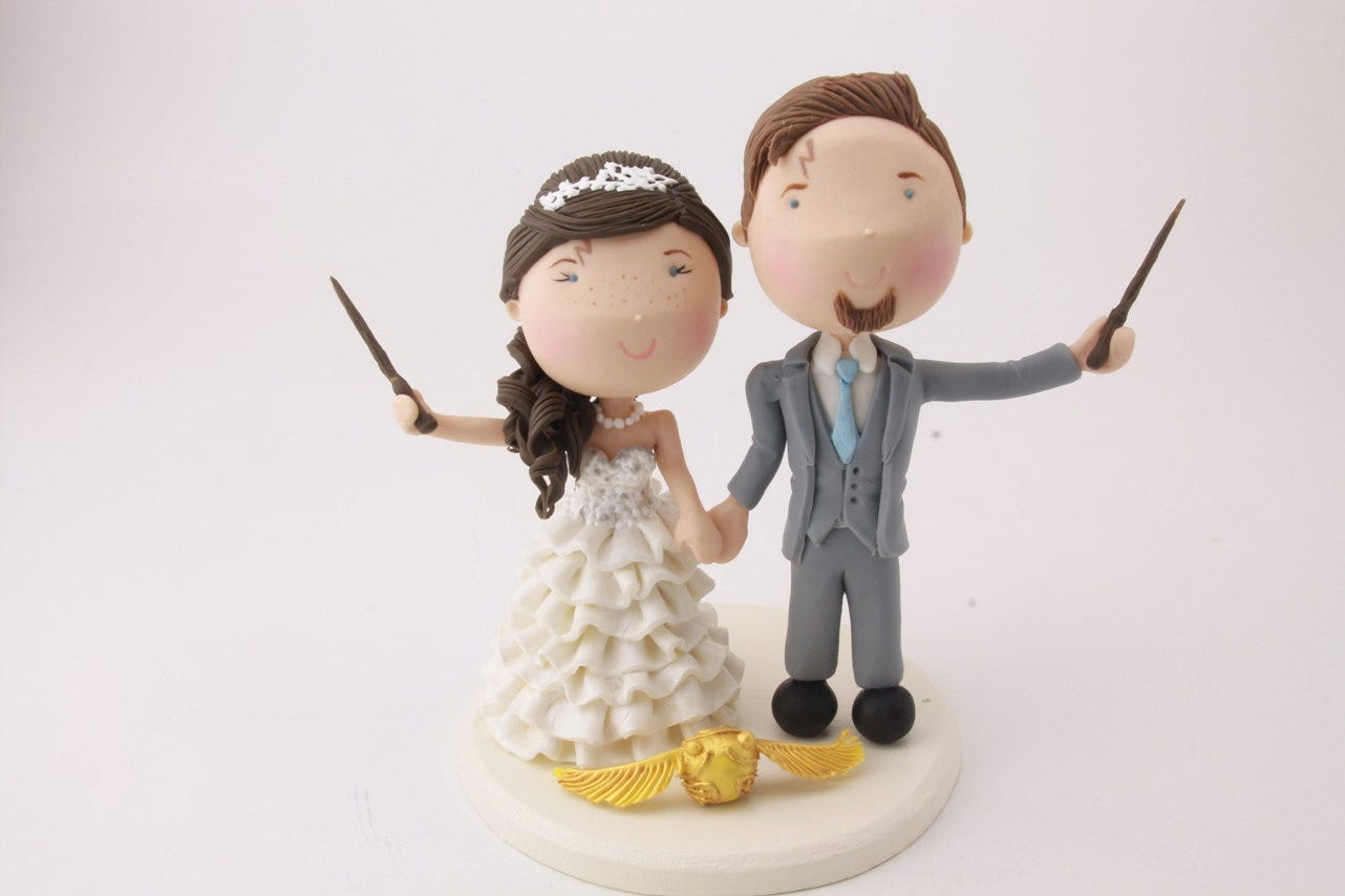 Wedding Cake Toppers For Every Couple