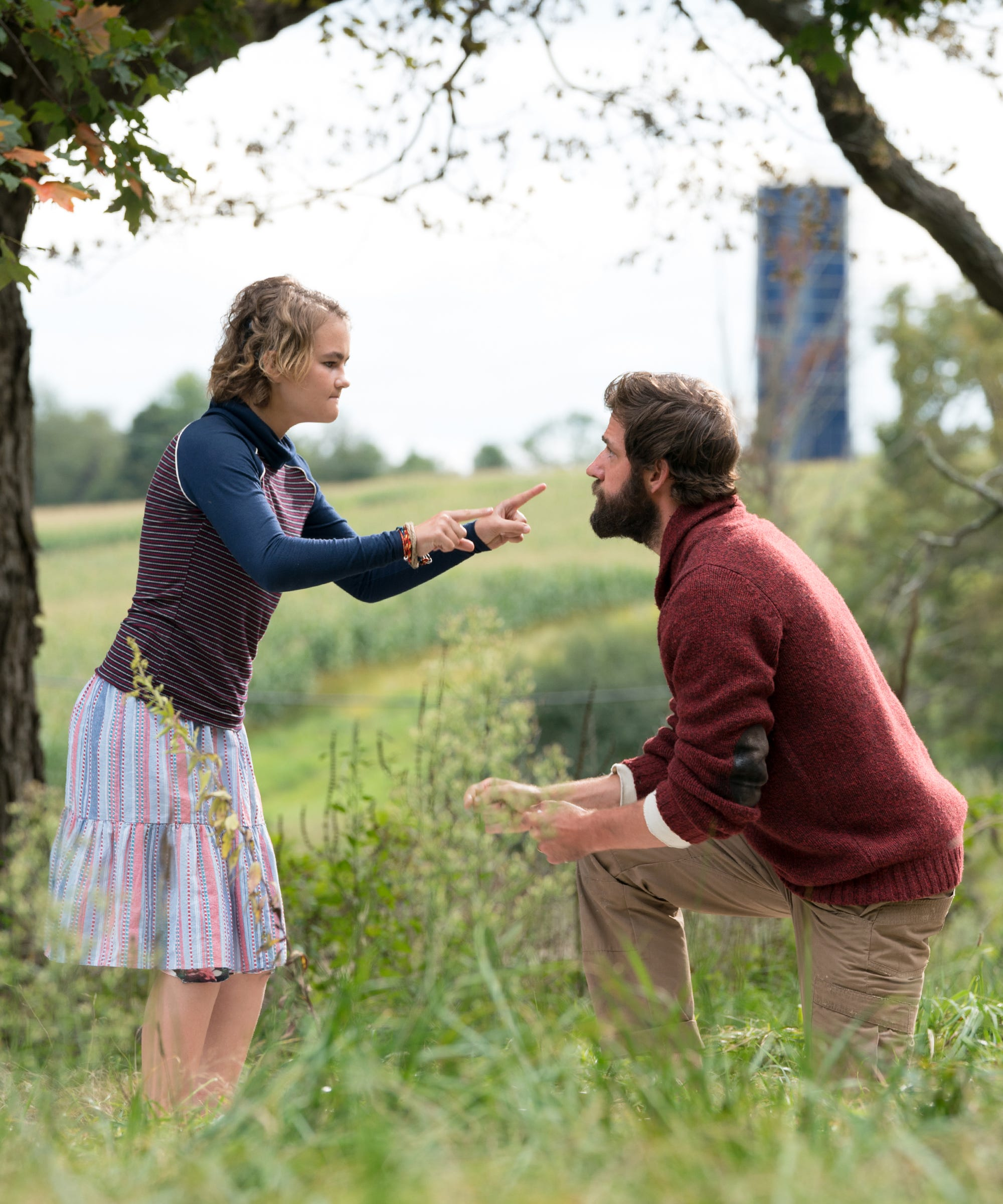 Here's Why John Krasinski Pushed To Cast A Deaf Actress In A Quiet Place