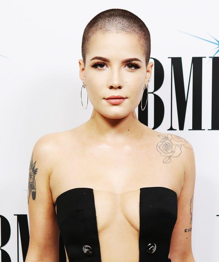 Celebrity Shaved Heads Female Buzz Cut Kate Hudson Hair