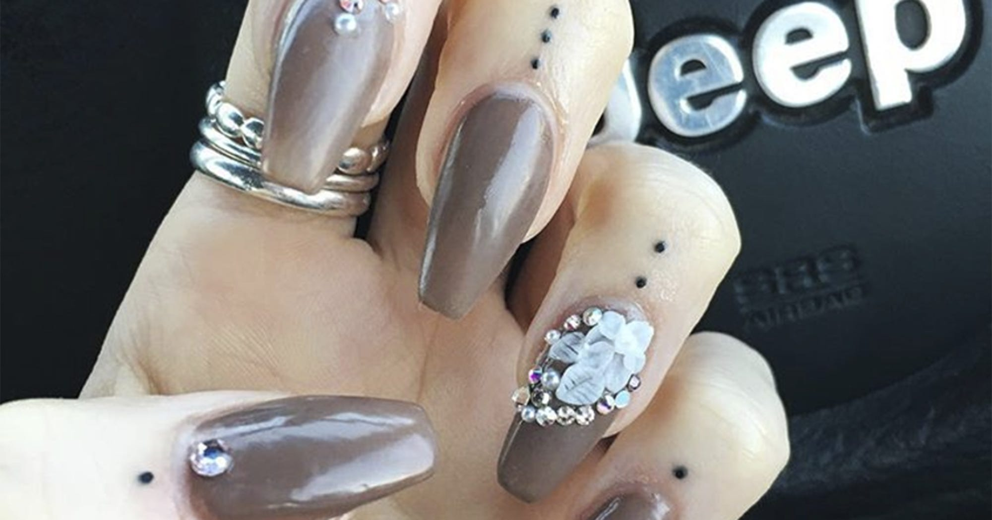 Cuticle Finger Tattoos Manicure Art