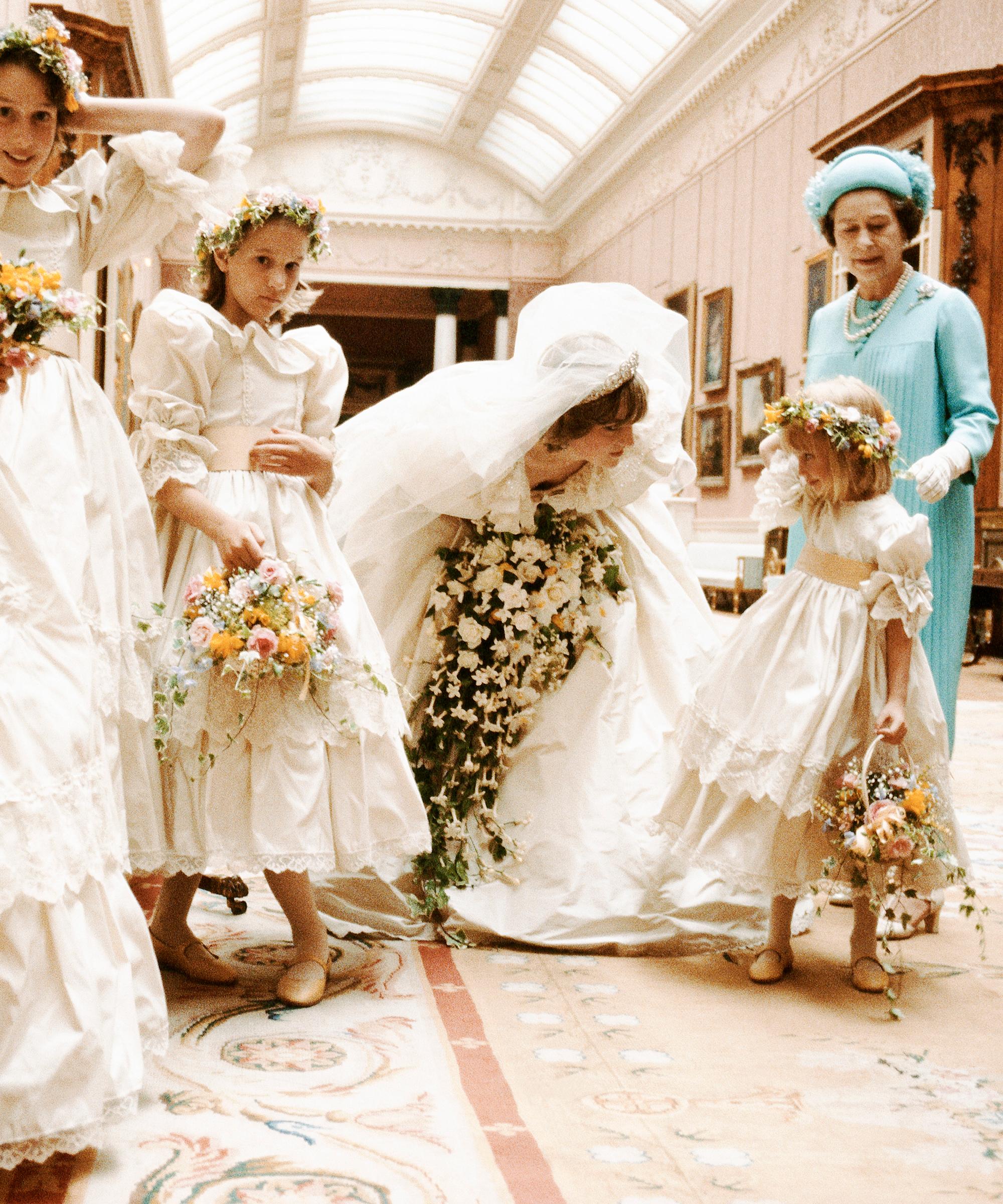 Die Hochzeit von Prince Charles & Lady Di in Zahlen