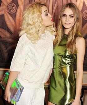 Besties Cara D & Rita Ora To Create A Fashion Label — Onesies All Round?