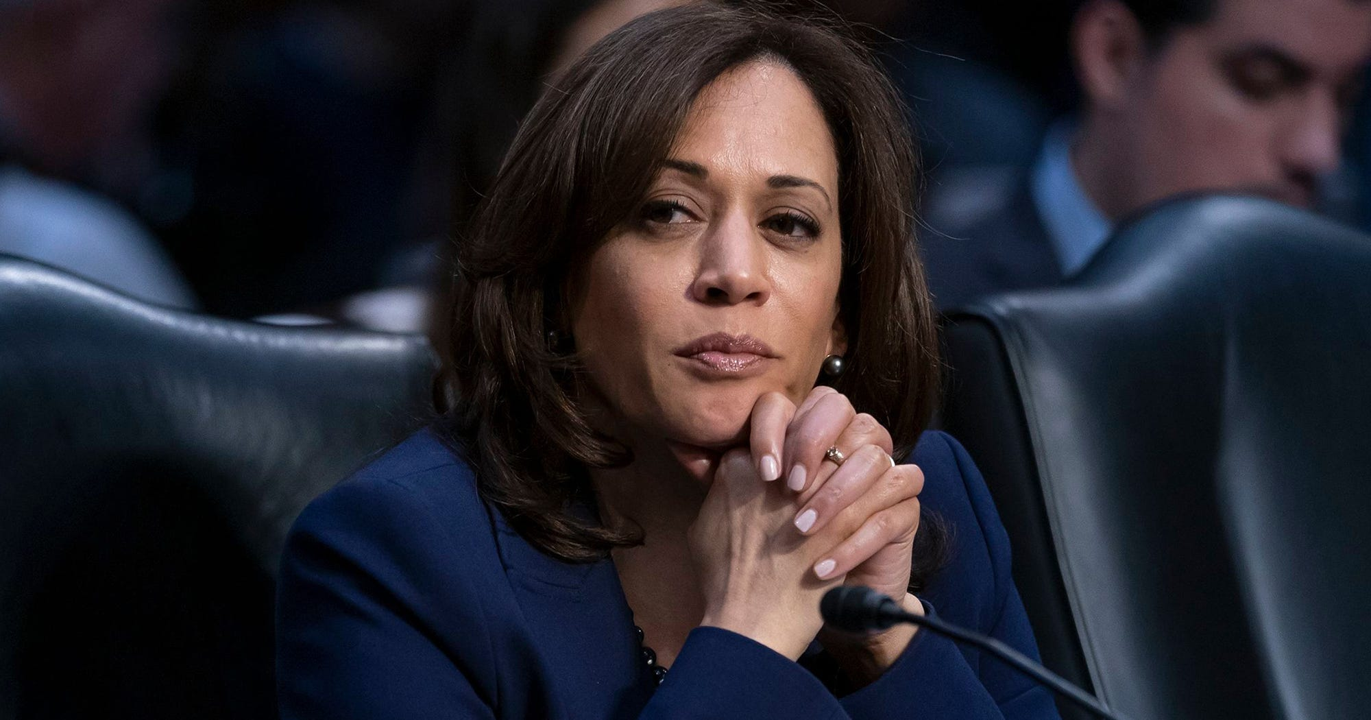 Kamala Harris Says She Supports Legalizing Weed & That She Smoked It In College