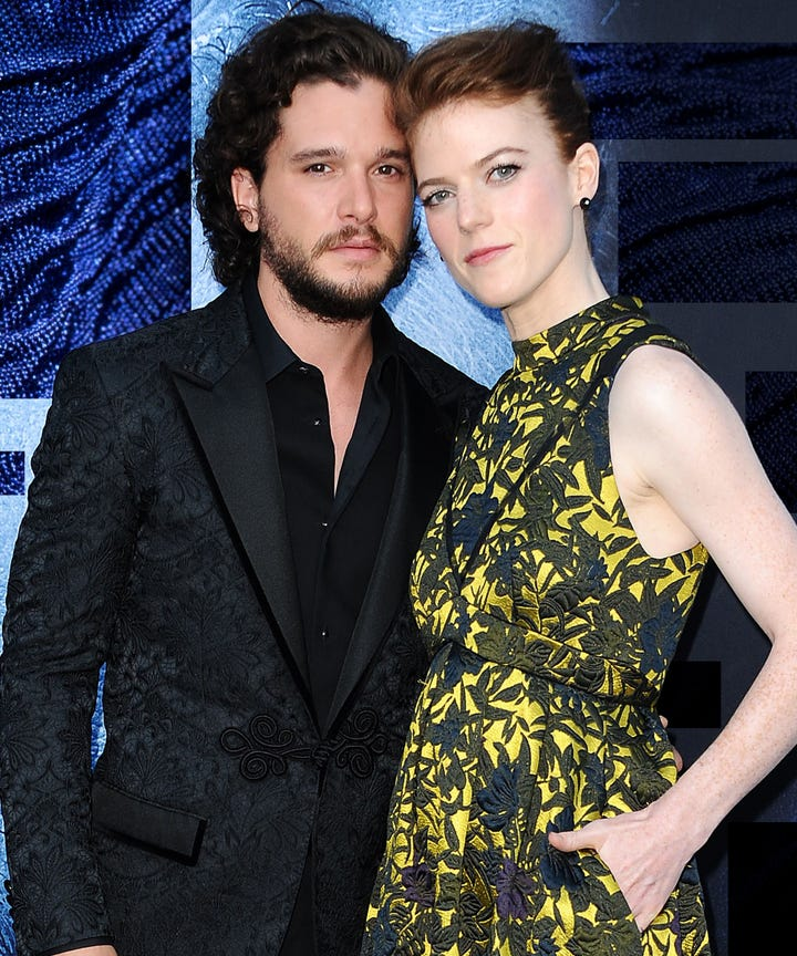 Rose Leslie Kit Harington Wedding Planning Problem