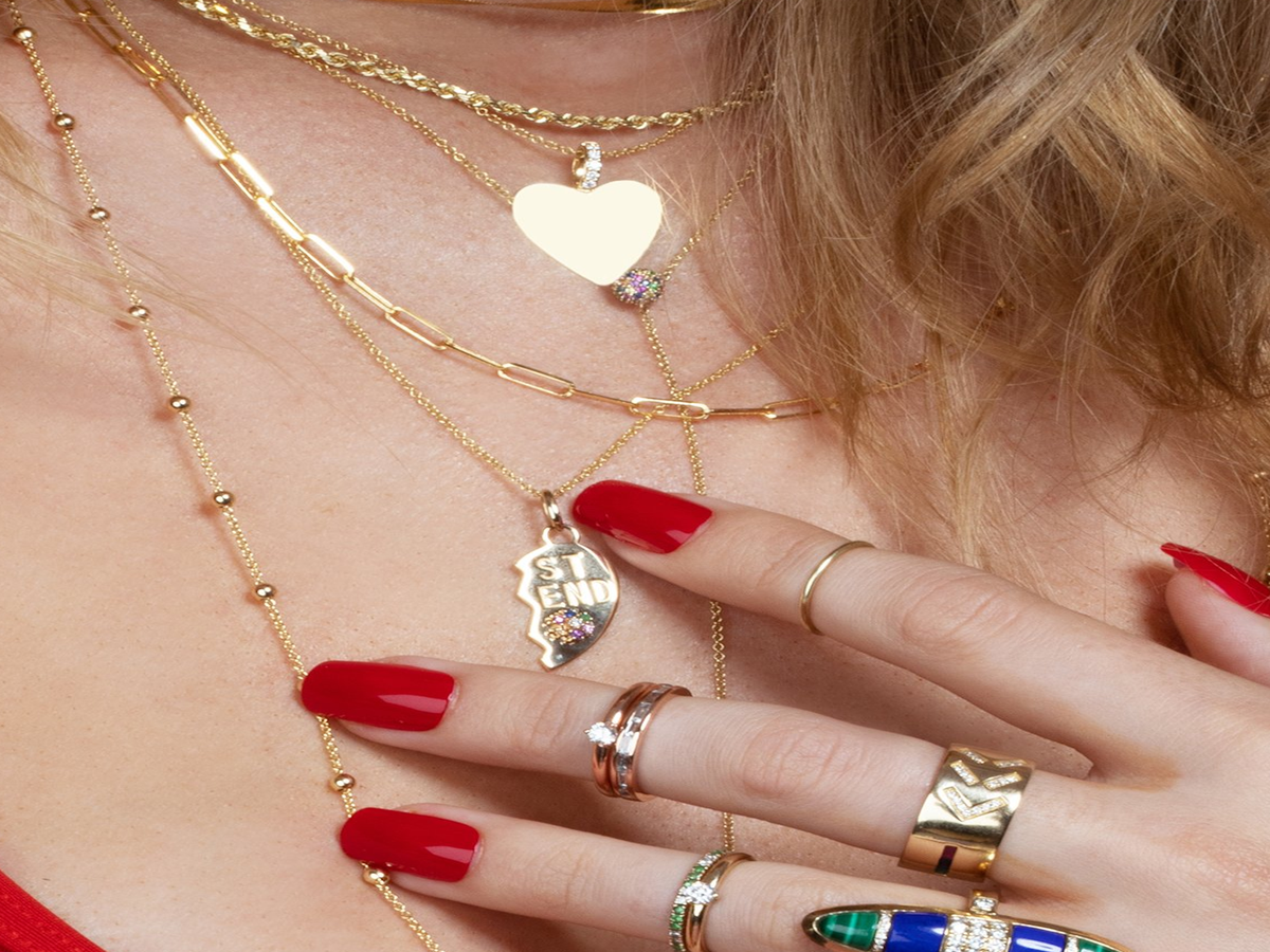 The Nostalgic Jewelry Of Our Childhoods Is Back In Time For Valentine s Day
