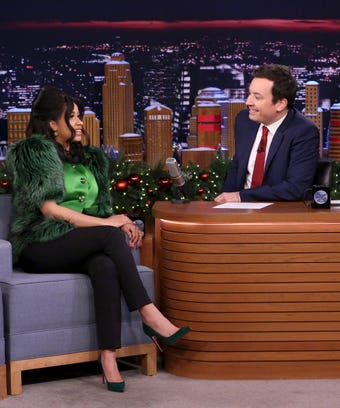 Cardi B on the Tonight Show with Jimmy Fallon