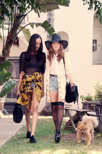7d26a4e84b1a Los Angeles Street Fashion-Penelope And Coco Designers Share Their Street  Style