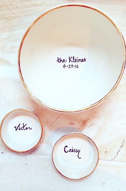 Engagement gifts best engagement gift ideas new york based ceramics brand the setting recently launched a bridal line and pretty much every item makes a perfect engagement gift or wedding gift negle Choice Image