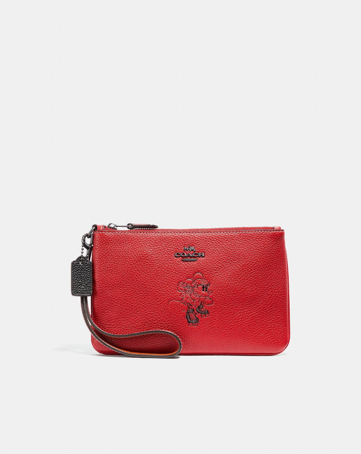 4574d2670c71 Disney x Coach. Boxed Minnie Mouse Small Wristlet With Motif