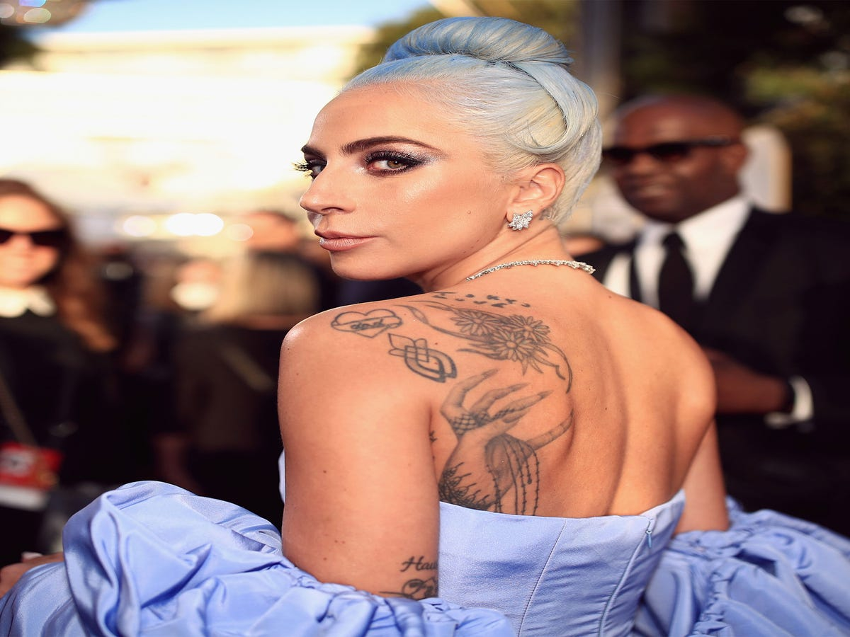 A Guide To Lady Gaga s Massive Tattoo Collection