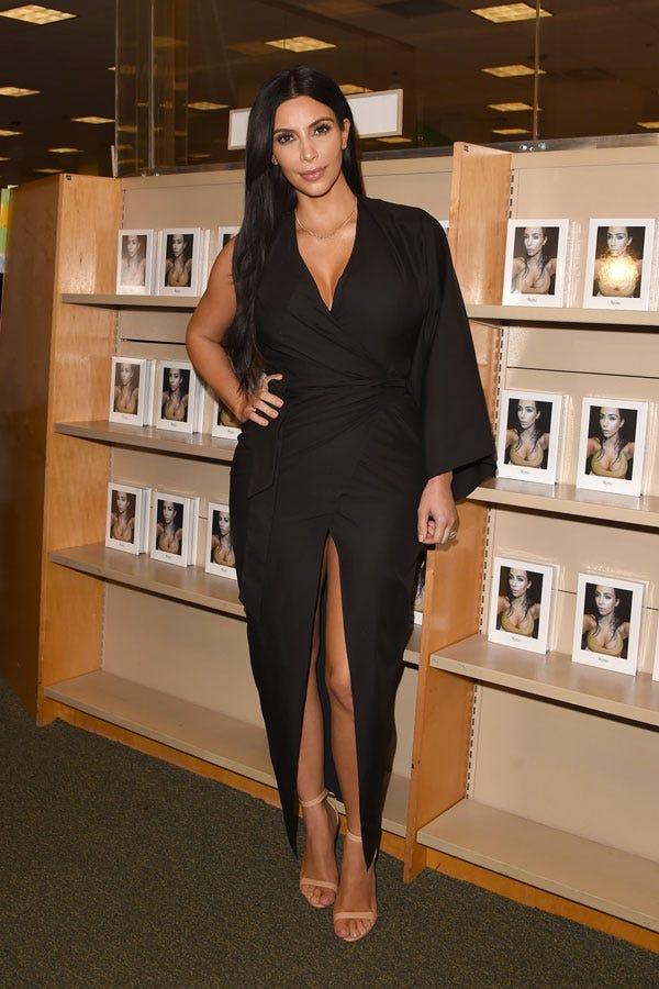 Kim kardashian in nude high heels, jack hammer dildo