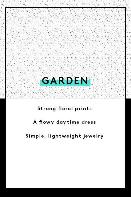 Guide to wedding guest dress attire the invite says garden stopboris Choice Image