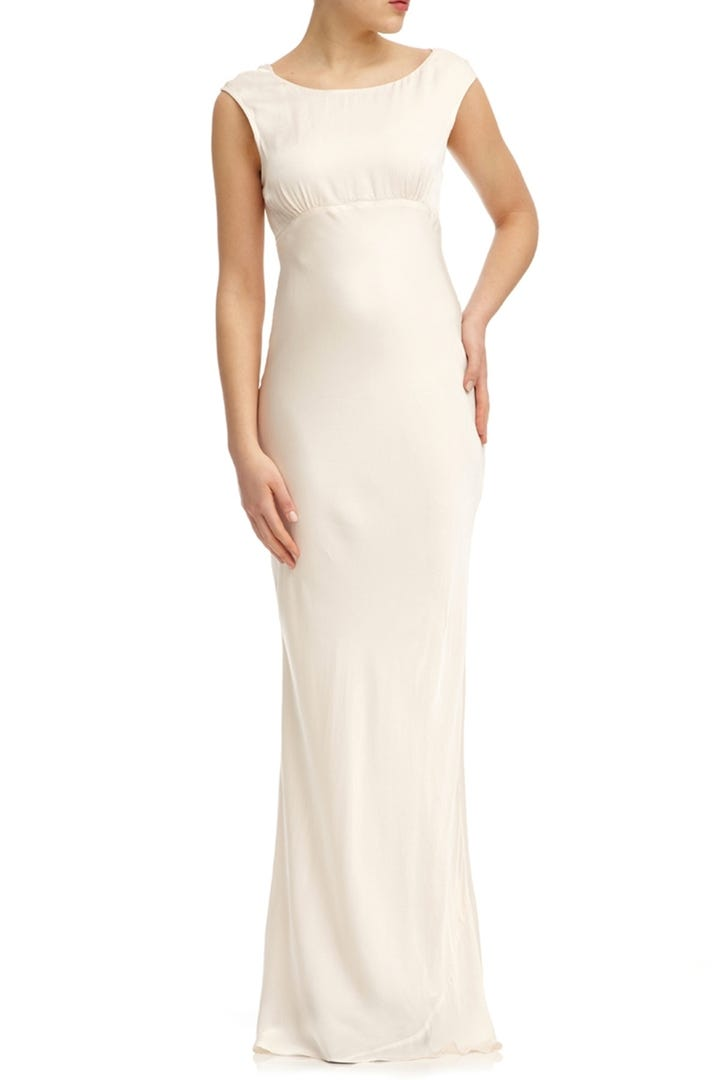 Donu0027t Feel Restricted By White U2013 This Dress Also Comes In Seven Other  Colours.