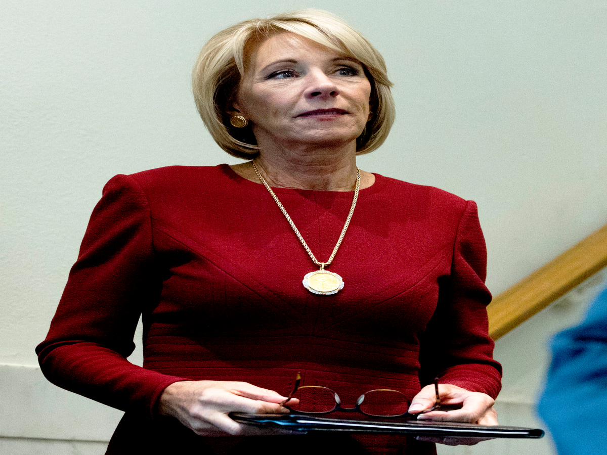 What Did Men's Advocacy Groups Say To Betsy DeVos About Title IX?