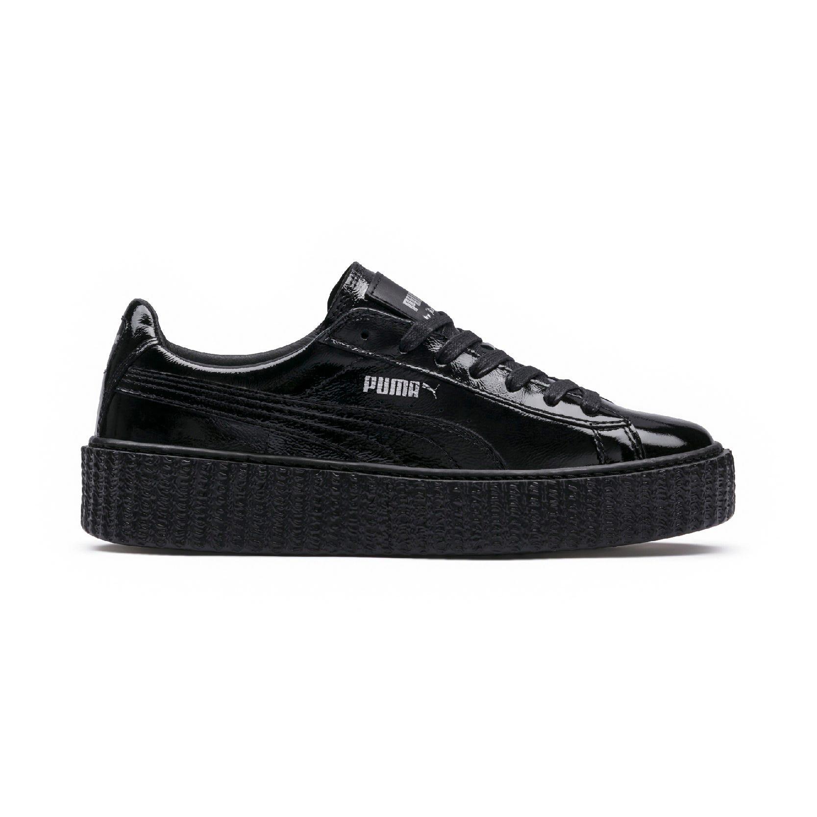 cab02c9484d2 Rihanna Fenty Puma Creeper Sneaker New Black White Drop