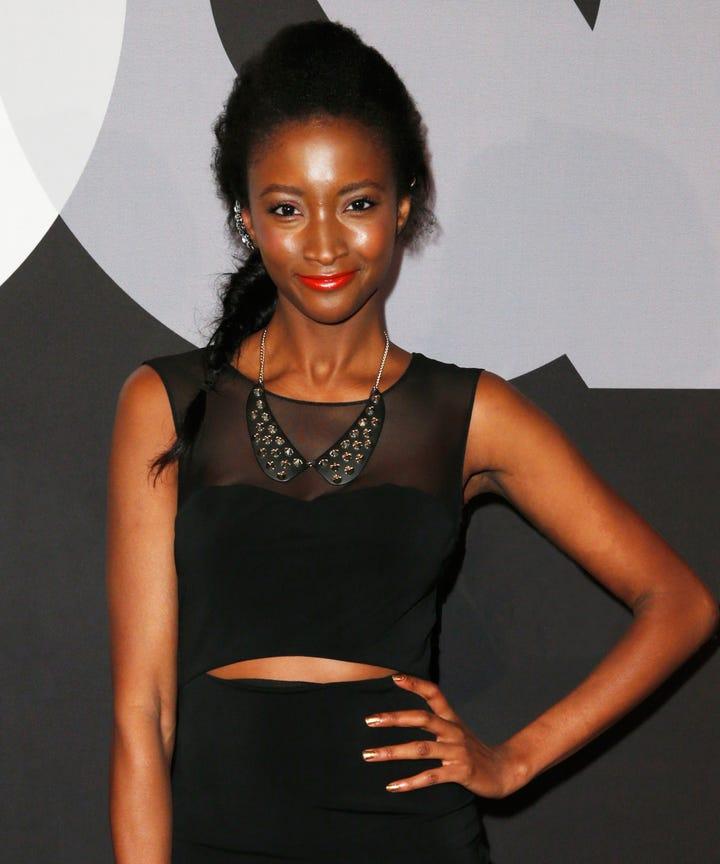 Victoria secret model hookup black man