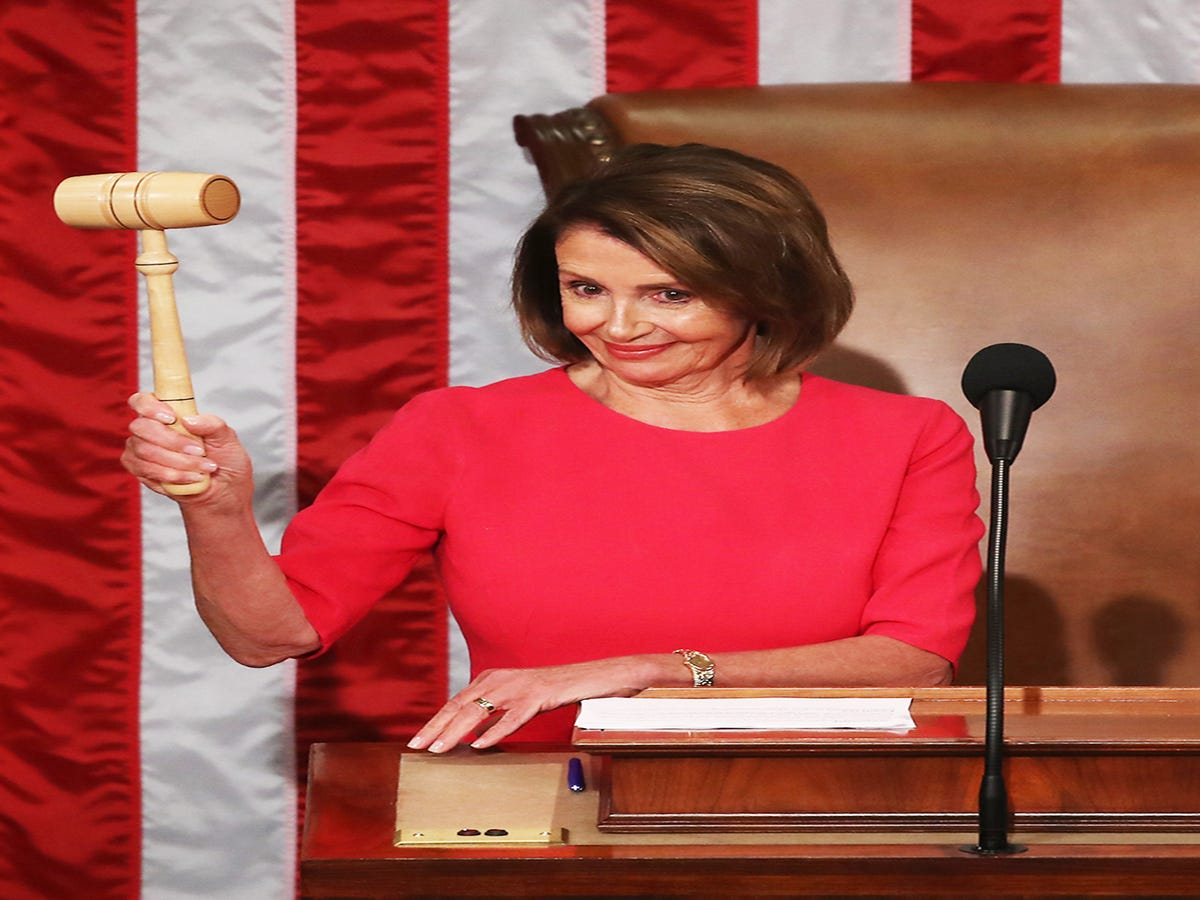 Nancy Pelosi Just Beat Donald Trump At His Own Game